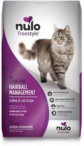 Nulo Freestyle Hairball Management Turkey & Cod Recipe