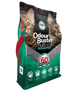 Eco-Solutions Odour Buster Multi-Cat Eucalyptus 12kg