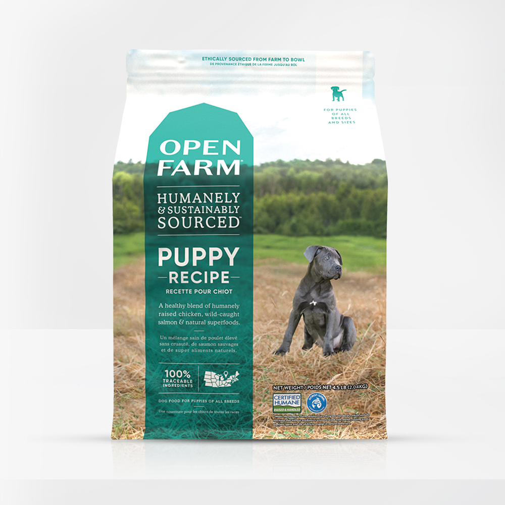 Open Farm for Puppies 4.5lb