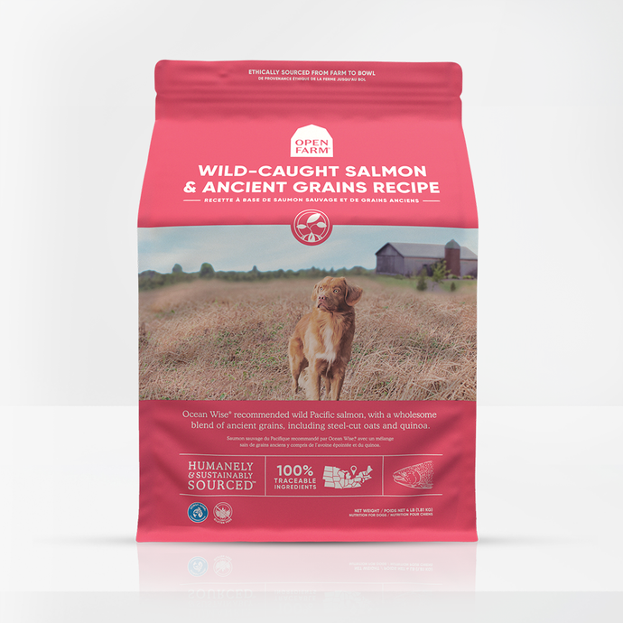 Open Farm Ancient Grains Wild Salmon for Dogs 22lb