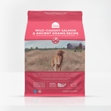 Open Farm Ancient Grains Wild Salmon for Dogs 4lb
