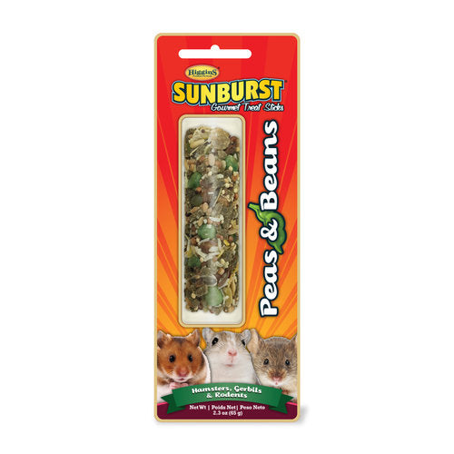 Higgins Sunburst Treat Sticks Peas & Beans 2.3oz