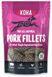 KOHA Air Dried Pork Fillets 4oz