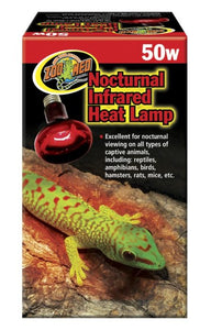 Zoo Med Infrared Heat Lamp 50w