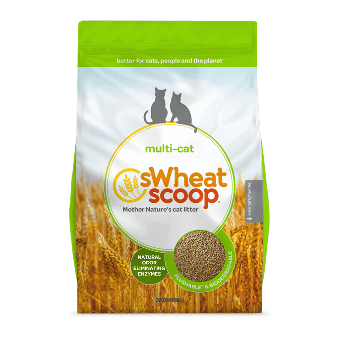 Swheat Scoop Multi-Cat Litter 36lb