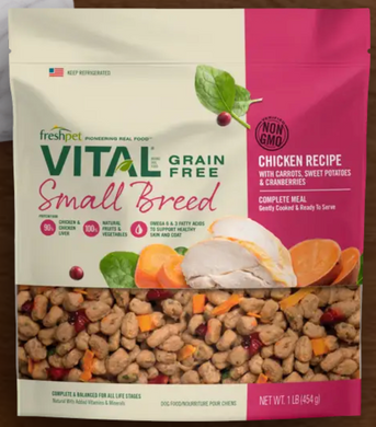 FreshPet Vital Small Breed Complete 1lb