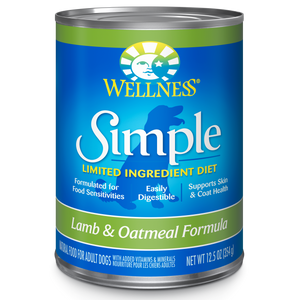 Wellness Simple Solutions Lamb for Dogs 12.5oz