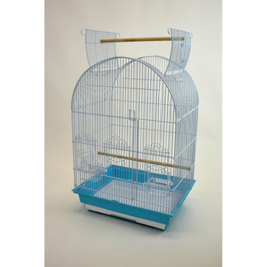 Glitter Pets Small Bird Cage with Open Top