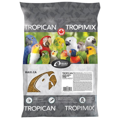Tropican Lifetime Formula Granules for Cockatiels - 11.34 kg (25 lb)