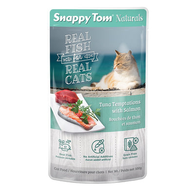 100g Snappy Tom Tuna w/ Salmon - Feline