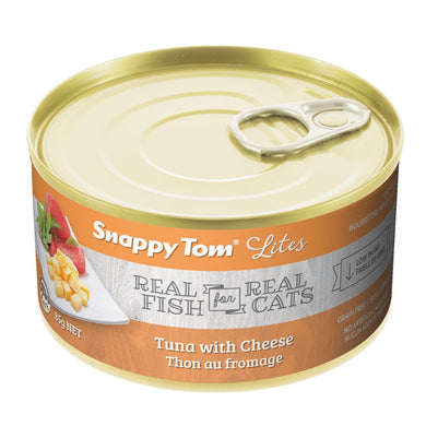 Snappy Tom Lite Dinners Tuna & Cheese for Cats 156g