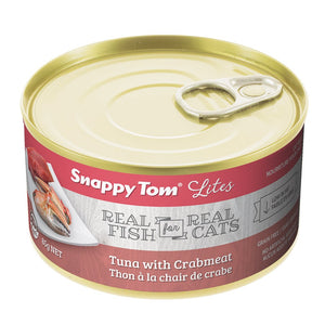 Snappy Tom Lite Dinners Tuna & Crabmeat for Cats 85g