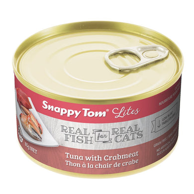 Snappy Tom Lite Dinners Tuna & Crabmeat for Cats 156g