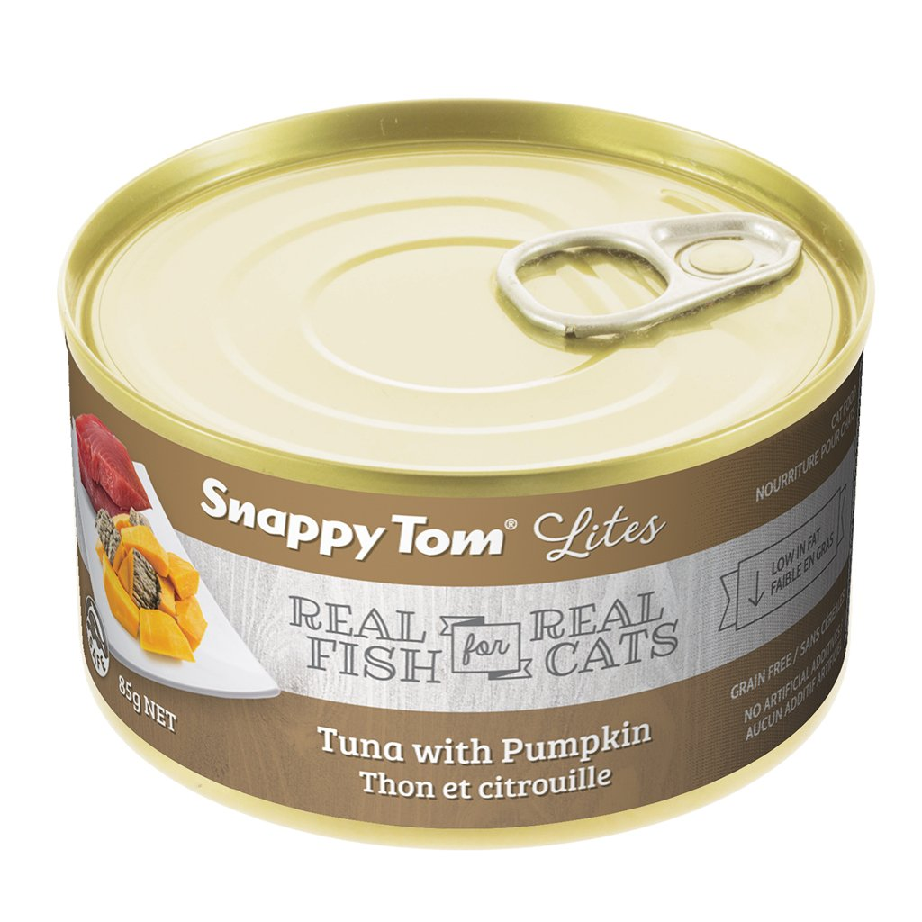 Snappy Tom Lite Dinners Tuna & Pumpkin for Cats 85g