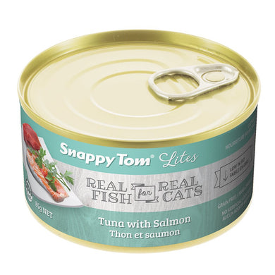 Snappy Tom Lite Dinners Tuna & Salmon for Cats 85g