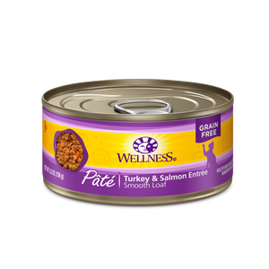 Wellness Turkey & Salmon for Cats 3.2oz