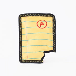 ZippyPaws Z-Stitch - Yellow Notepad