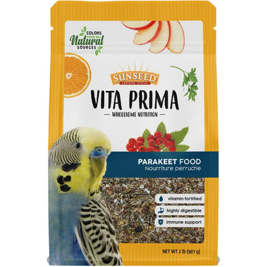 Sunseed Vita Prima Parakeet Diet - 2lb