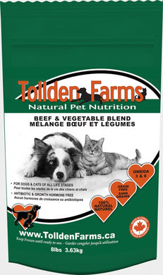 Tollden Farms Beef & Veg 3lb