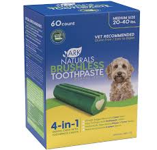 ARK Naturals Brushless Toothpaste Value Pack Med 60ct