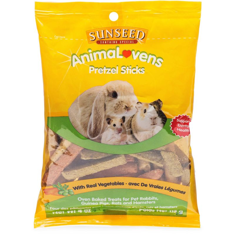 Sunseed Animalovens Pretzel Sticks