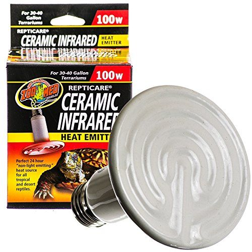 Zoo Med Ceramic Heat Emitter 100w
