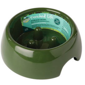 Oxbow Animal Health Enriched Life Forage Bowl Large