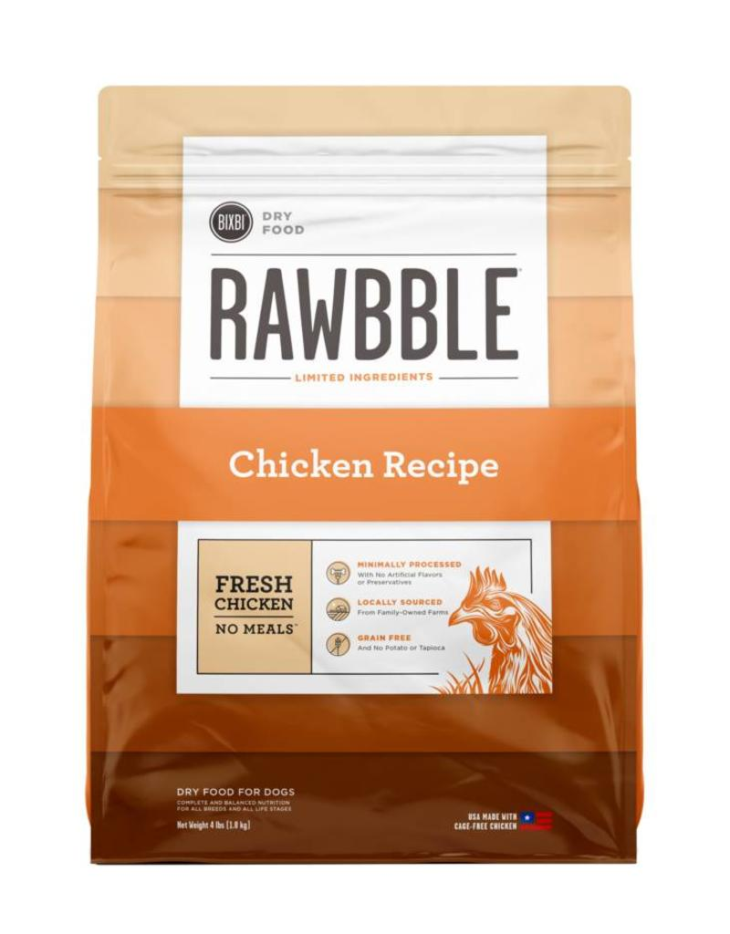 4lb Rawbble Chicken for Dogs