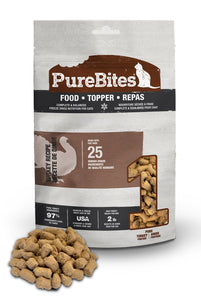 PureBites Turkey Cat Food Topper 260g
