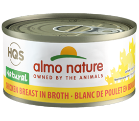 Almo Nature Chicken Breast In Broth for Cats 2.5oz Can