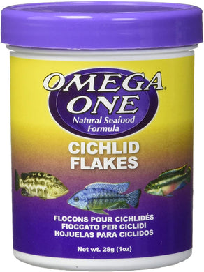 Omega One Cichlid Flakes 1 oz