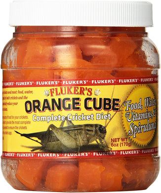Fluker's Orange Cube - Complete Cricket Diet 6oz
