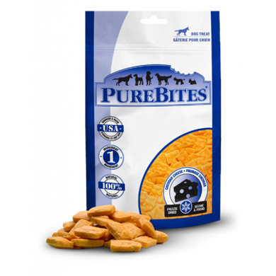 PureBites Cheddar Cheese Freeze Dried Dog Treats 250g