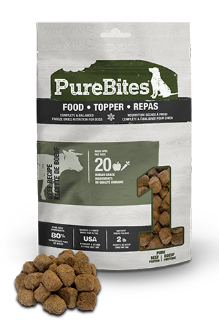 283g Purebites Beef Food Topper - Canine
