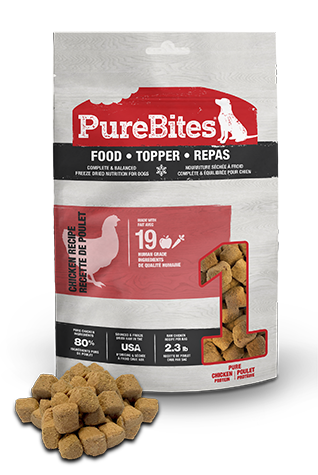 85g Purebites Chicken Food Topper - Canine