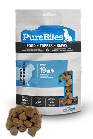 269g Purebites Lamb Food Topper - Canine