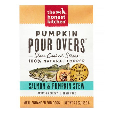 The Honest Kitchen Pumpkin Pour Overs Salmon for Dogs 5.5oz