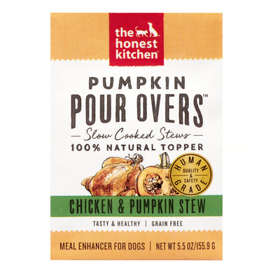 The Honest Kitchen Pumpkin Pour Overs Chicken Stew for Dogs 5.5oz
