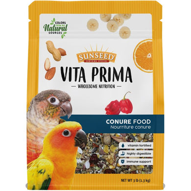 3lb Sunseed Vita Prima Conure Food