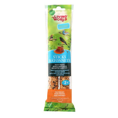 Living World Finch Honey Sticks (2-pack)