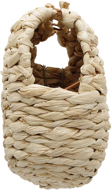 Living World Maize Peel Bird Nest for Finches - Large