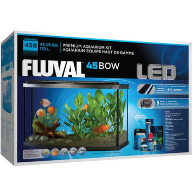 Fluval Premium Aquarium Kit with LED - 45 Bow - 170 L (45 US Gal)