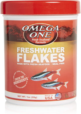 Omega One Freshwater Flake 1 oz