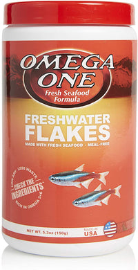 Omega One Freshwater Flake 5.3 oz