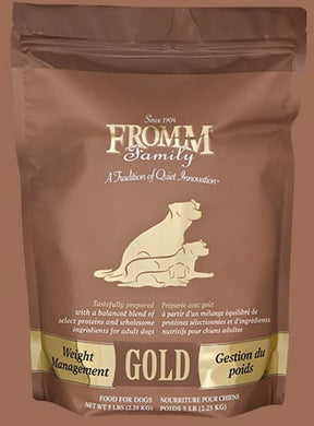 Fromm Gold Weight Mgmt for Dogs 5lb