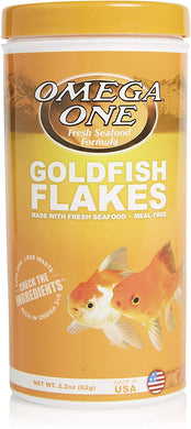 Omega One Goldfish Flake 2 oz