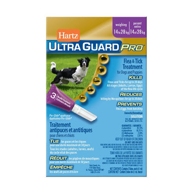 Hartz UltraGuard Pro Drops for Dogs 14-28kg