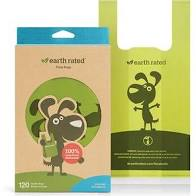 Earth Rated Poop Bags Eco Handle Bags Unscented 120pk