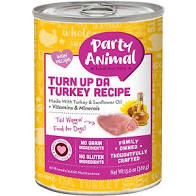 Party Animal Turn Up Da Turkey for Dogs 13oz