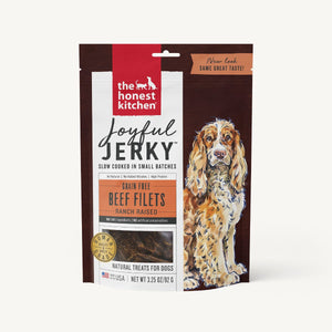 4oz The Honest Kitchen Joyful Jerky Beef Filets - Canine